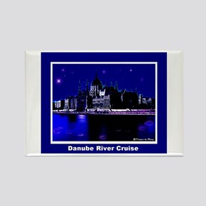 Danube River Cruise Rectangle Magnet