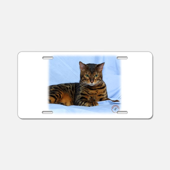 Bengal Cat 9W052D-023 Aluminum License Plate
