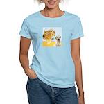 Sunflowers-Yellow Lab 7 Women's Light T-Shirt