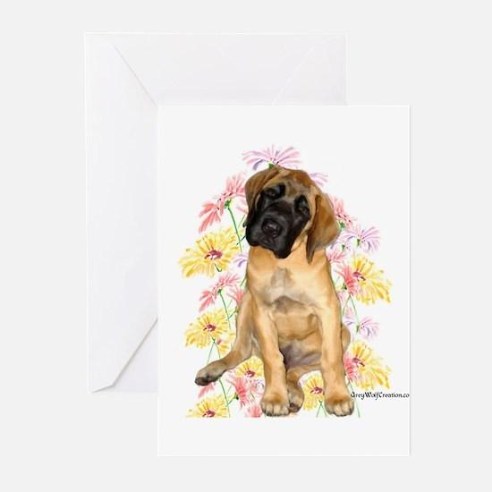 Mastiff 87 Greeting Cards (Pk of 10)