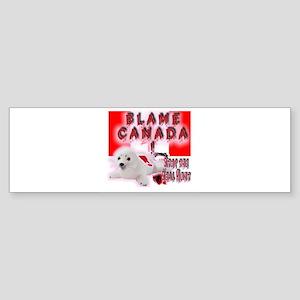 Blame Canada Bumper Sticker