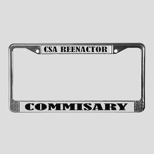 CSA Reenactor Commissary License Frame