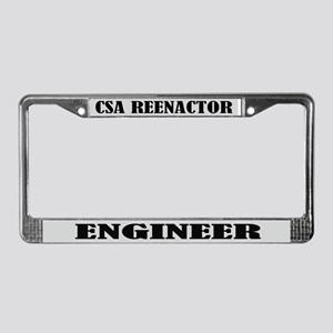 CSA Reenactor Engineer License Frame