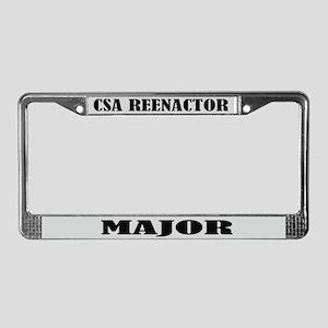CSA Reenactor Major License Frame