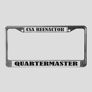 CSA Reenactor Quartermaster License Frame