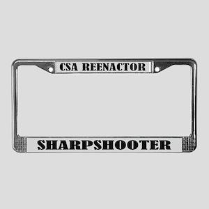 CSA Reenactor Sharpshooter License Frame