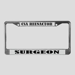 CSA Reenactor Surgeon License Frame