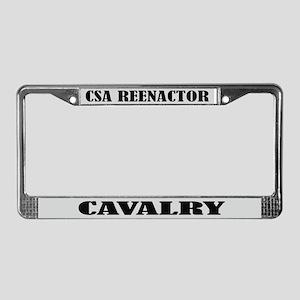 CSA Reenactor Cavalry License Frame