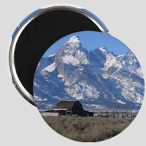 Tetons Historic Barn Magnet