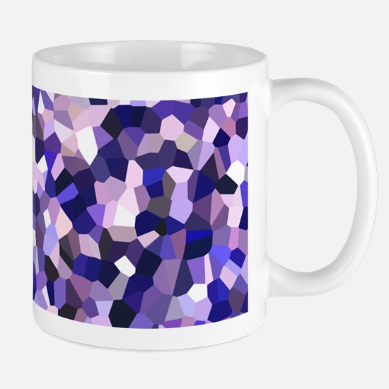 Violet Mosaic Pattern Mug