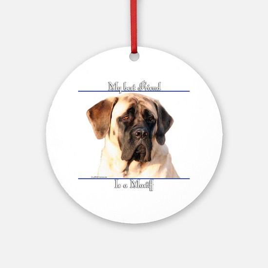Mastiff 64 Ornament (Round)