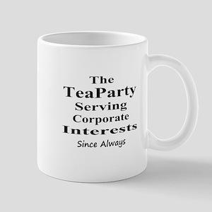 Tea Party Corps-black Mug