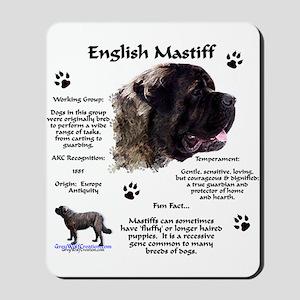 Fluffy Mastiff 23 Mousepad