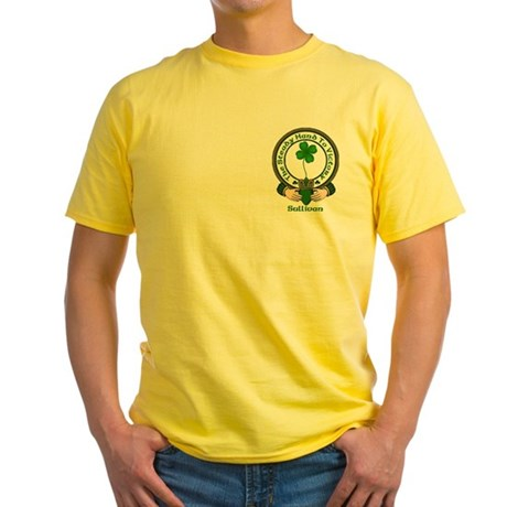 Sullivan Clan Motto 2 Yellow T-Shirt