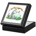 Dragon Reads Keepsake Box