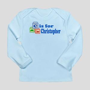 Baby Blocks Christopher Long Sleeve Infant T-Shirt