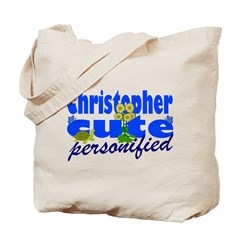 Cute Christopher Tote Bag