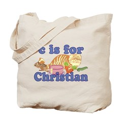 C is for Christian Tote Bag