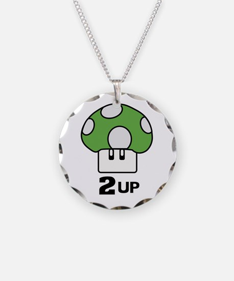2 Up mushroom Necklace