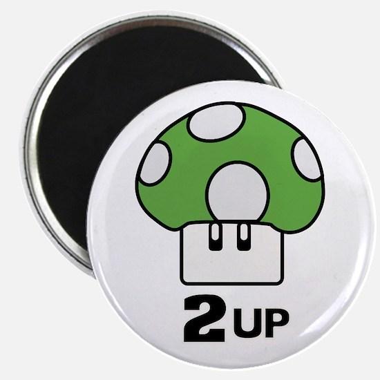 2 Up mushroom Magnet