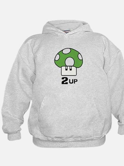 2 Up mushroom Hoody