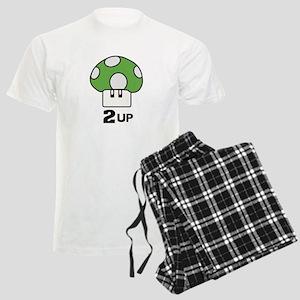 2 Up mushroom Men's Light Pajamas
