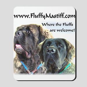 Fluffy Mastiff 4 Mousepad