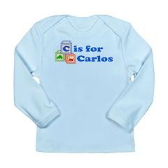 Baby Blocks Carlos Long Sleeve Infant T-Shirt