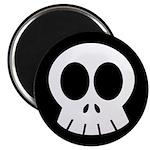 """SkullSpace Cute Skull 2.25"""" Magnet (100 pack)"""