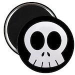 """SkullSpace Cute Skull 2.25"""" Magnet (10 pack)"""