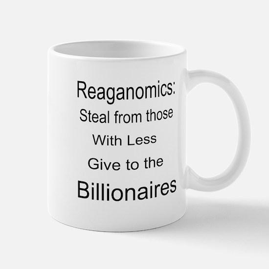 Reaganomics Anti MiddleClass Mug