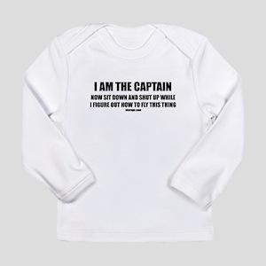 I AM THE CAPTAIN Long Sleeve Infant T-Shirt