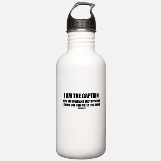 I AM THE CAPTAIN Water Bottle