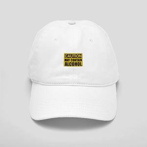 Caution May Contain Alcohol Baseball Cap
