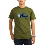 Ninja Master Organic Men's T-Shirt (dark)