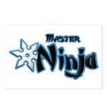 Ninja Master Postcards (Package of 8)