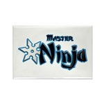 Ninja Master Rectangle Magnet (10 pack)