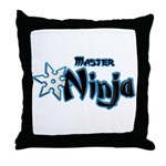 Ninja Master Throw Pillow