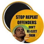 """Stop Repeat Offenders 2.25"""" Magnet (10 pack)"""