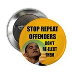 """Stop Repeat Offenders 2.25"""" Button"""