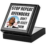Stop Repeat Offenders Keepsake Box