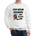 Stop Repeat Offenders Sweatshirt