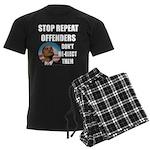 Stop Repeat Offenders Men's Dark Pajamas