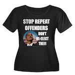 Stop Repeat Offenders Women's Plus Size Scoop Neck