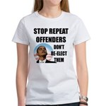Stop Repeat Offenders Women's T-Shirt