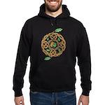 Celtic Nature Yin Yang Hoodie (dark)