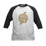 Celtic Nature Yin Yang Kids Baseball Jersey