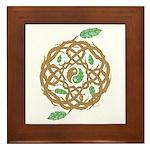 Celtic Nature Yin Yang Framed Tile