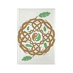 Celtic Nature Yin Yang Rectangle Magnet