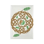 Celtic Nature Yin Yang Rectangle Magnet (100 pack)